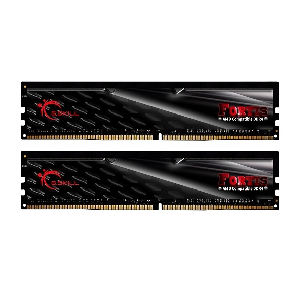 G.Skill DDR4-2400 32GB Dual Channel Fortis [F4-2400C15D-32GFT]